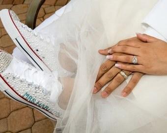 Customized Wedding Converse