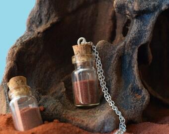 Australian Red Desert Sand Necklace