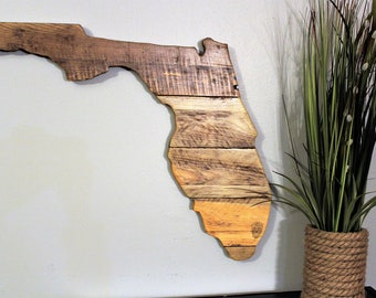 Florida State Sign - State Cutout - State Wall Decor