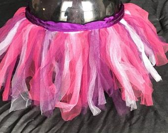 Purple, white and pink tutu