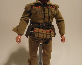 Vintage Gabriel Tonto Action Figure from the 1973 Lone Ranger Set Collectible Doll