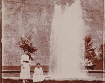 Antique Photograph . Tourist Photo . Vacation Picture . Digital Download . High Resolution Scan