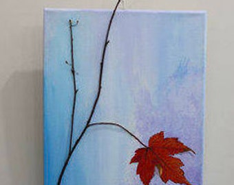 The Last Leaf- Original Painting