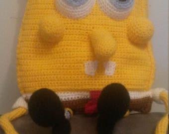 Sponge Bob in crochet