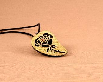 """UNIQUE - """"Rose"""" Pendant"""
