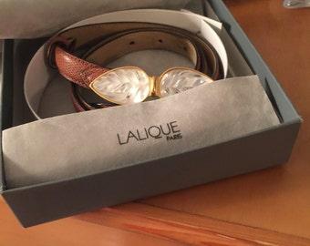 Lalique Ceintures Belt