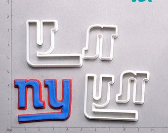 New York Giants Fondant Cutter