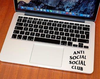 Anti Social Social Club Sticker - Decal - ASSC - Kanye West - HYPE - Macbook - iPhone
