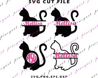 cat svg,monogram,cat svg,monogram,cat monogram svg,cat cricut,cat dxf,cat png,cat,cat print,cat cut file,cat art,cat shirt print,cat