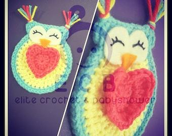 love owl crochet patterns