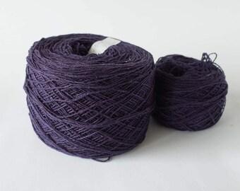 Natural Dyeing Silk Yarn With Logwood