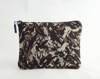 """Japanese"" zippered pouch"