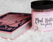 Mad Hatter's tea party | Bookish soy wax candle