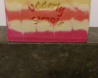 Pink Lemonade Goat Milk Soap