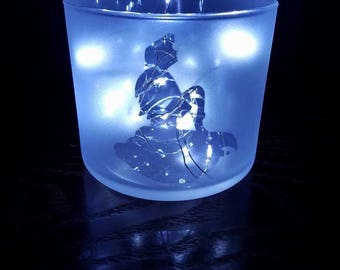 Ariel Silhouette Fairy Light Night Light