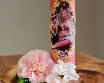 Beyoncé Prayer Candle: The Empress