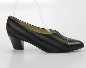 80s Maripé vintage pumps shoes size. EUR: 38 1/2 UK 5.5 US 7.5