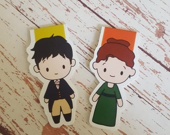 Darcy and Lizzy || Magnetic Bookmark