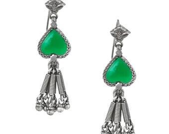 SV's handmade 92.5 silver earrings