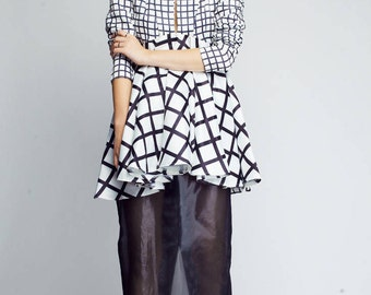 Geometrical top/tunic