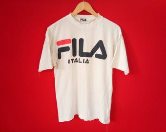 vintage Fila casual medium mens t shirt