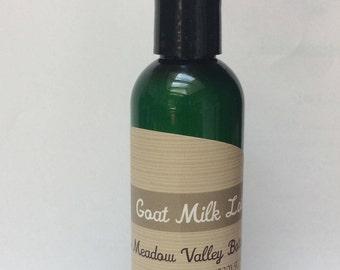 Goat milk lotion with St. John's wort