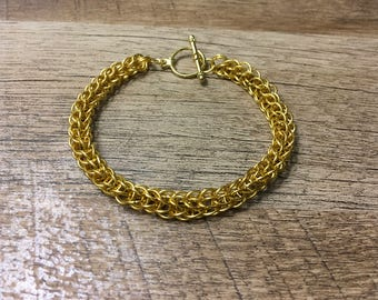 Golden full  Persian bracelet.