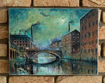 Manchester Industrial Street Scene