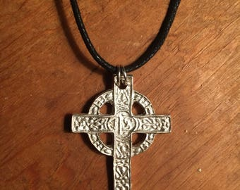 Handmade Solid Silver Celtic Cross
