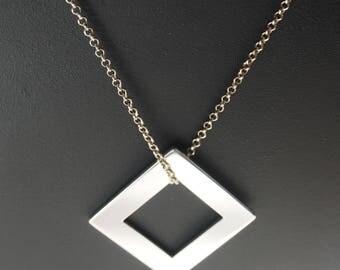 Sterling Silver Pendant minimalist
