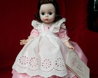 Little Women Madame Alexander Beth Doll with Arm Tag