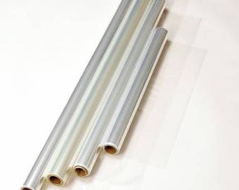 """Gift Wrapping Clear Cellophane Roll Gift Basket Arts and Crafts (30"""" X 100"""")"""