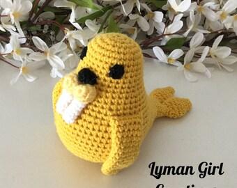 Crochet Walrus