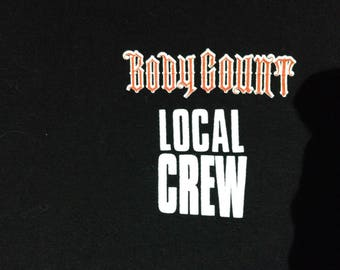Vintage Bodycount 90s Local Crew T shirt XL