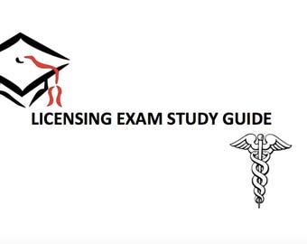 Nursing Licensing Exam Study Booklet