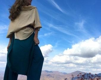 Hemp pants custom made and hand dyed // organic clothing // eco-friendly // hemp clothing