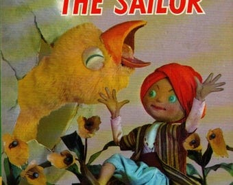Sinbad the Sailor a Living Story Book - Anderson - Vintage Kids Book