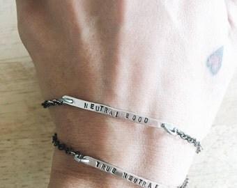 alignment bracelet for clarity