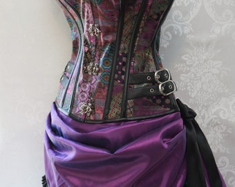 Purple Passion Steampunk Costume - Made to Order