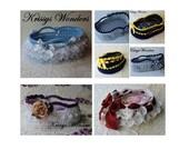 SALE 5 patterns for 5.00 - Moses Basket Crochet Patterns - Moses Basket Ebook - Photo Prop  - KrissysWonders - Lace Basket - Doll Carrier