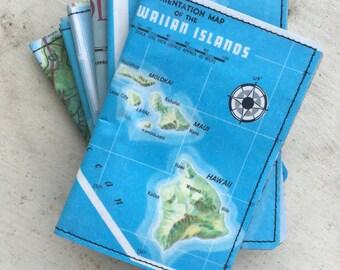 Slim Wallet- HAWAII Map- Choose 1