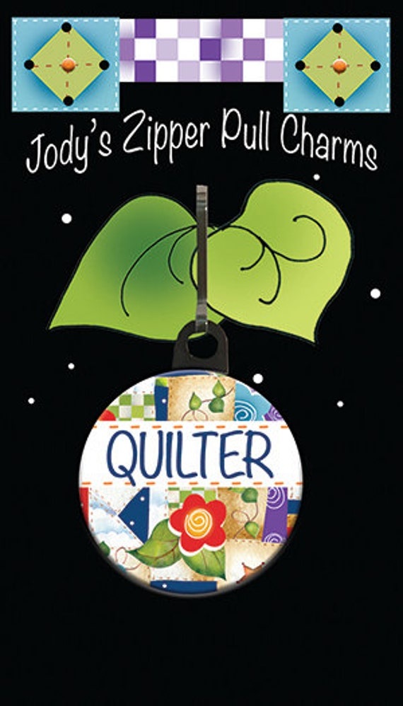 Zipper Charm for QUILTERS