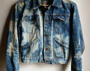 Vintage 1960's Bleached Maverick Jacket