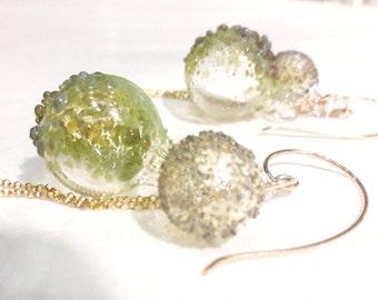 Green Dream Earrings