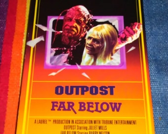 MONSTERS TV Series vhs Episodes Outpost & Far Below Sci-Fi Horror VHS Free Shipping