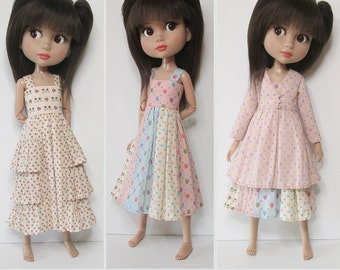 STRAIGHTFORWARD SEWING Pattern- SSP-041: 2 dresses and a coat-dress for Tonner Patience, Marley Wentworth & Agnes Dreary.