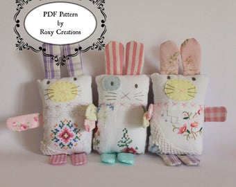 Bunny PDF sewing pattern
