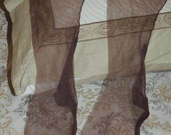 Vtg Nylon Stocking with Seams