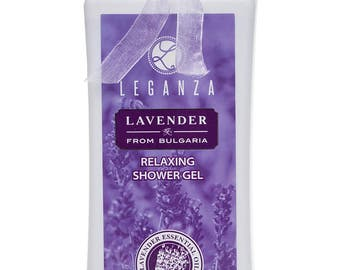 Organic Lavender Bath & Shower Gel 200 ml 6.8 oz
