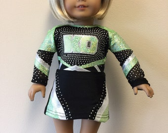 Made to order KO Cheerleader Uniform  for American Girl Doll